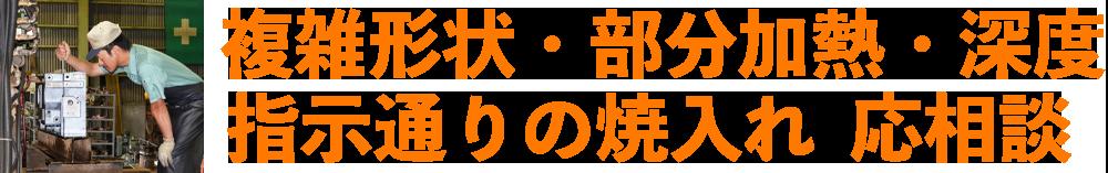 複雑形状・部分加熱 新潟高周波工業(株)